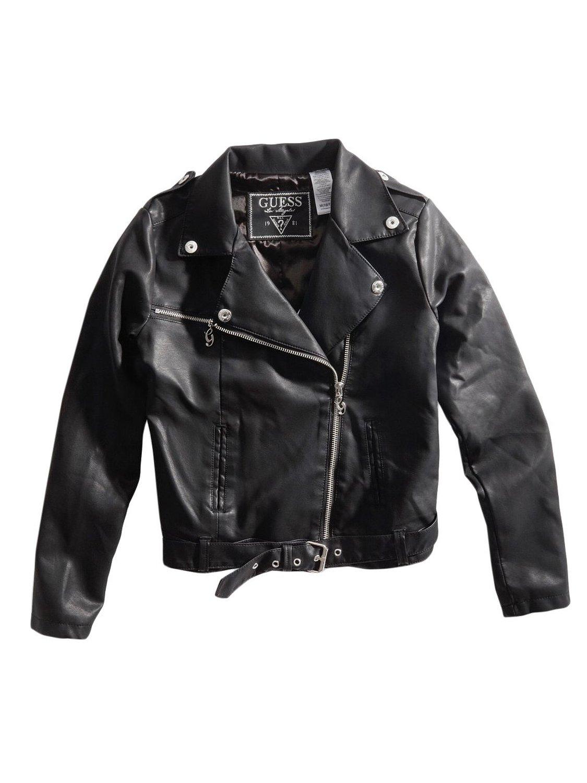 Amazon.com: guess kids girls big girl motorcycle jacket (7