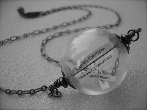 The reaping ~ hunger games glass orb reaping ball necklace from jetaimeboutique on storenvy