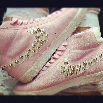 shoes like best for girl girly beautiful nike pink the kooks gold nike sneakers