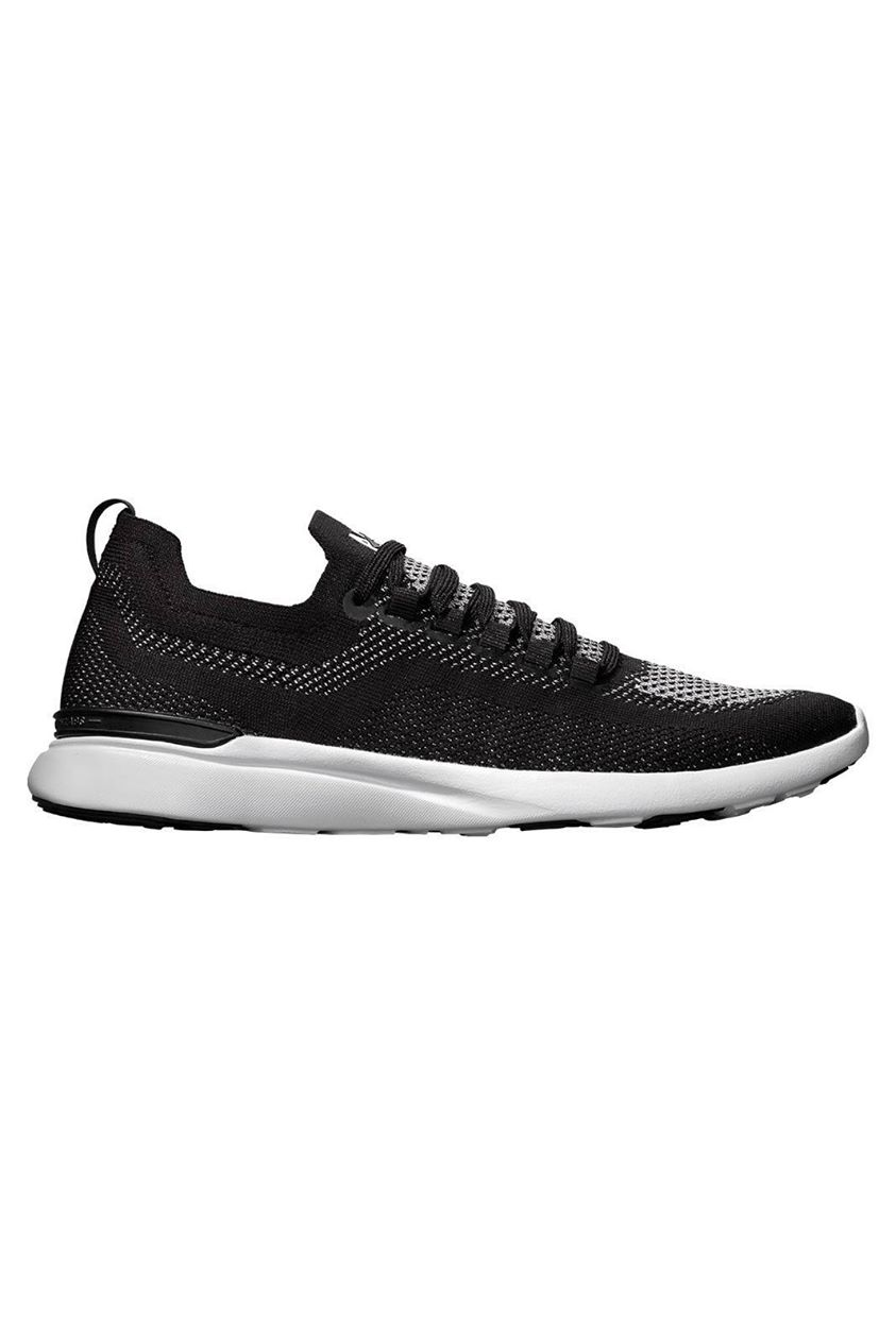 APL TechLoom Breeze - Black/Metallic Silver/White - 6.5 Black trainers 6.5 Black