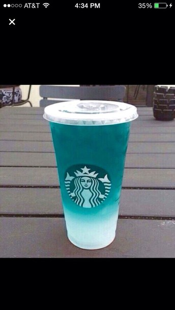 White Starbucks Drink