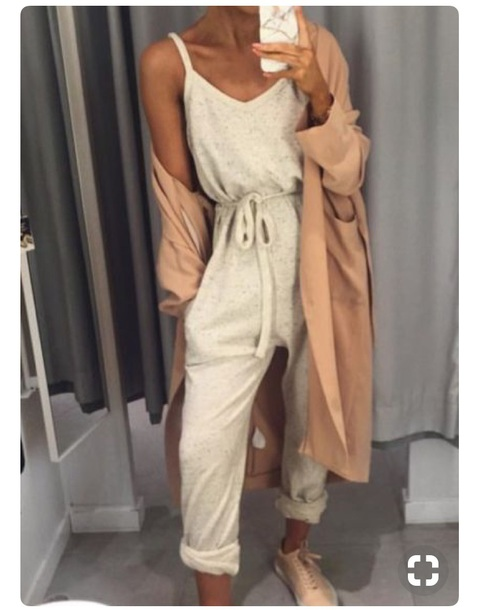 coat jumpsuit