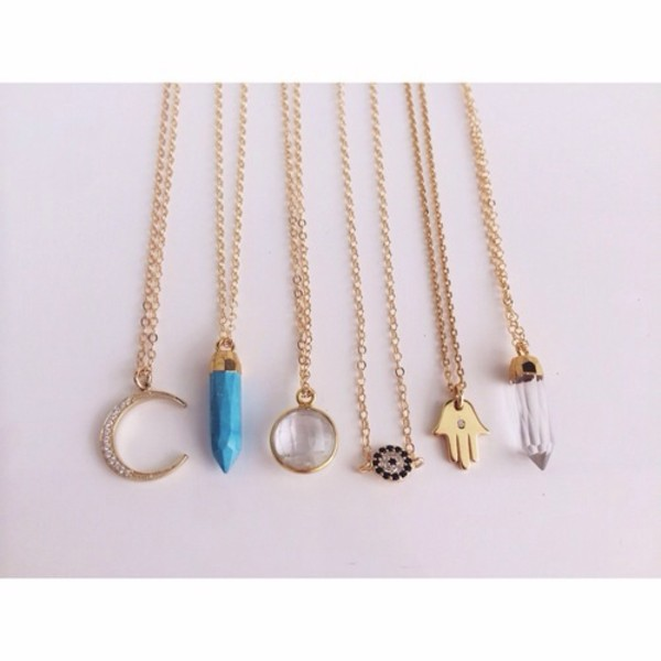jewels necklace crystal