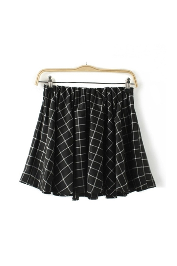 British Style Mini Frilly Skirt [FMCC0182] - PersunMall.com