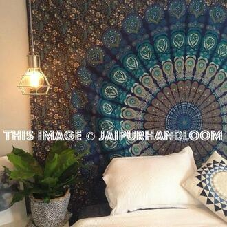 home accessory beach throw mandala mandala tapestry hippie tapestry mandala wall hanging queen bedding queen bed cover queen bedsheet queen blanket mandala blanket cotton bedspread tapestry dorm decor wall hanging holiday gift anniversary gift cheap gift birthday gift beach towel picnic blanket