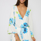 Eagon playsuit - white floral