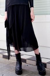 skirt,dress,sjirt,summer,black,design,layered