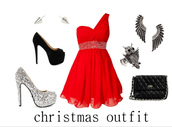 dress,christmas,winter formal dress,red dress