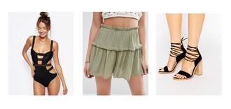 ilirida krasniqi blogger skirt shoes