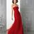 Cheap 2014 Hot Selling Strapless A Line Red Prom Dresses | Buy Wholesale On Line Direct from China