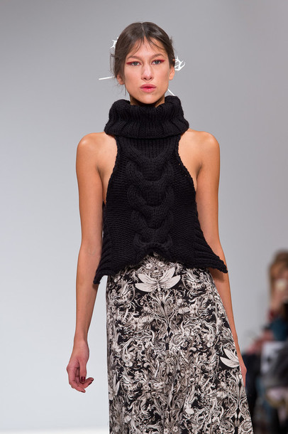 top fashion week 2015 knitwear turtleneck