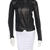 J Brand Leather Moto Jacket