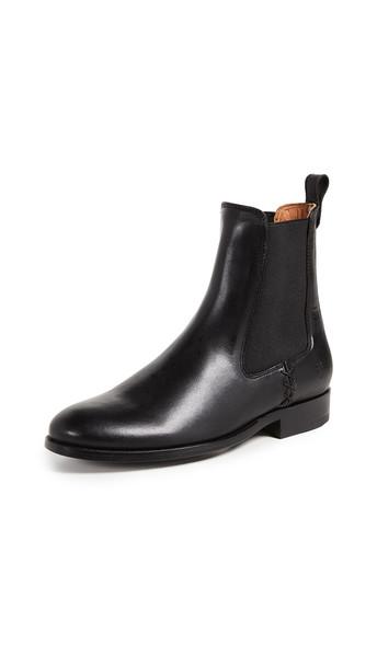 Frye Melissa Chelsea Boots in black