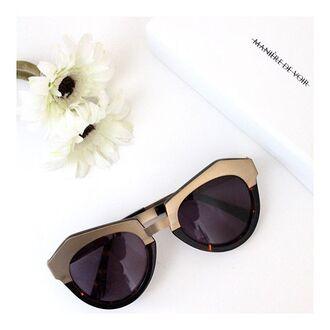 sunglasses maniere de voir gold sunglasses eyewear tortoise shell