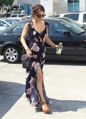 dress,vanessa hudgens,floral
