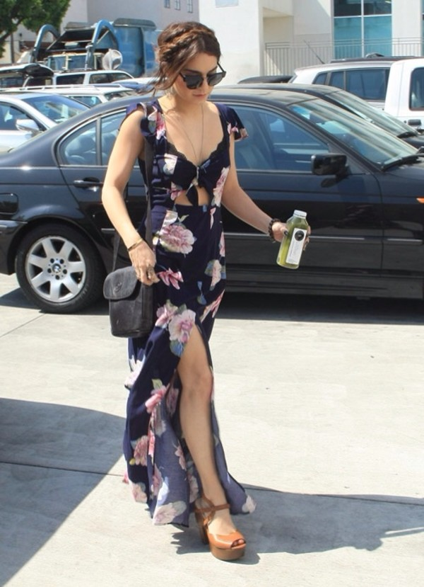 dress vanessa hudgens floral