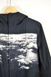 jacket,windbreaker,white clouds