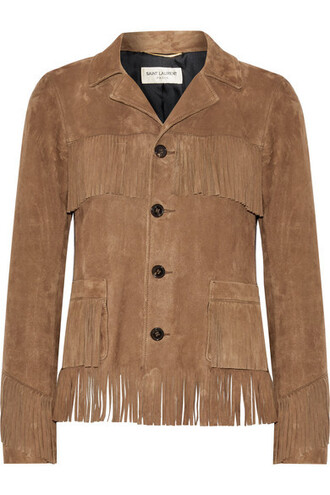 jacket suede jacket suede brown