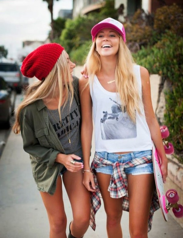 Top Jacket Style Shorts Hat Outfit Fashion Penny