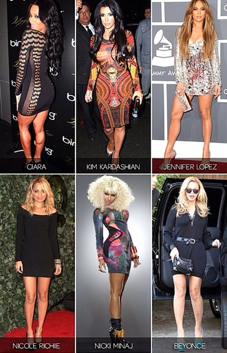 dress ciara jennifer lopez nicole richie nicki minaj beyoncé bodycon dresses long sleeve dress sexy party dresses little black dress sequin dress