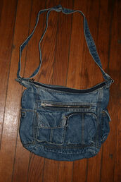 bag,90s style,80s style,purse,90s bag,jean purse,denim purse
