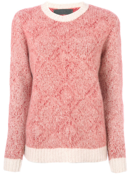 The Elder Statesman jumper cashmere jumper women red sweater