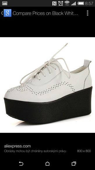 platform shoes oxford boots sneakers