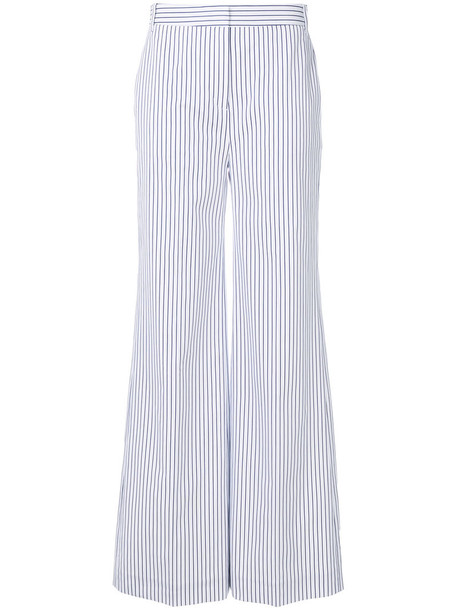 Victoria Victoria Beckham women white cotton pants