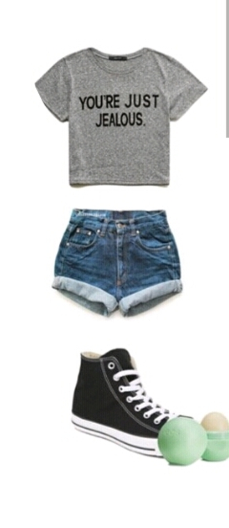 t-shirt gray grey t-shirt eos