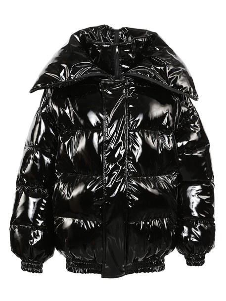 Vetements jacket puffer jacket black