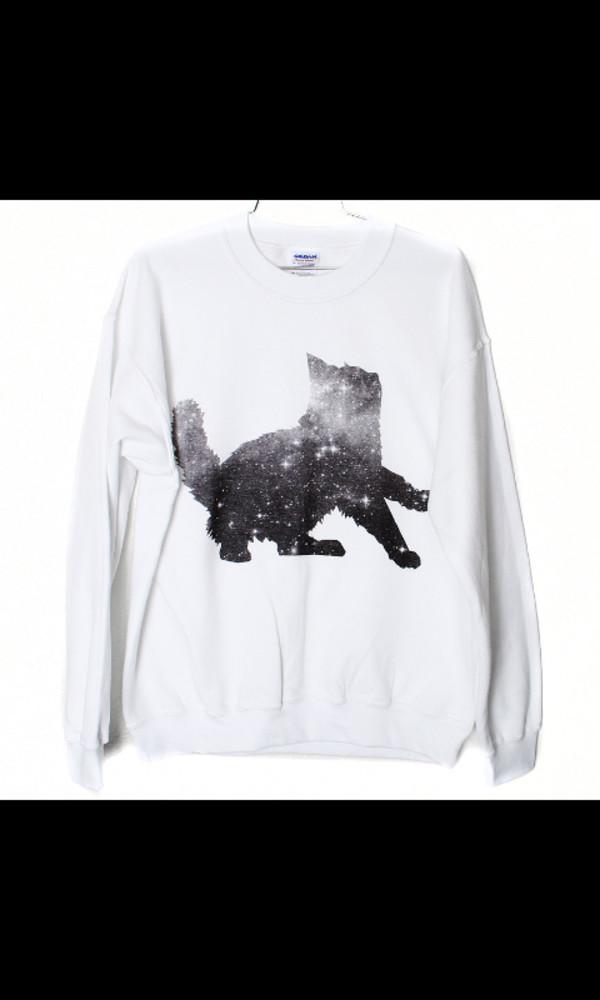 cats cartoon casual dress casual cute dress cute beanies coat sweater white cats cute