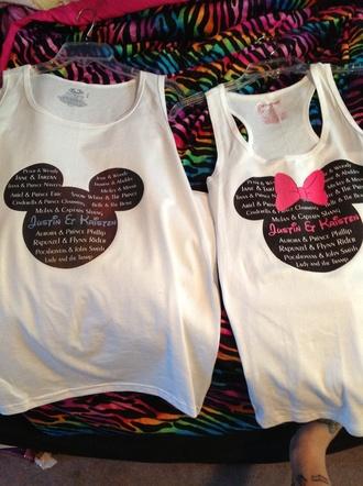 shirt disney disneyland disneyworld shirts etsy couple matching florida california customized personalized