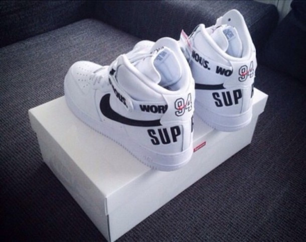 shoes 94 nike air max white black