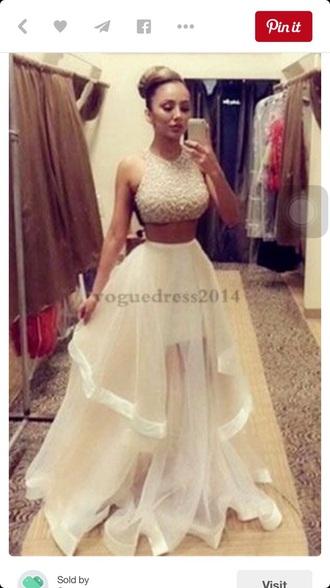 dress white prom elegant evening help
