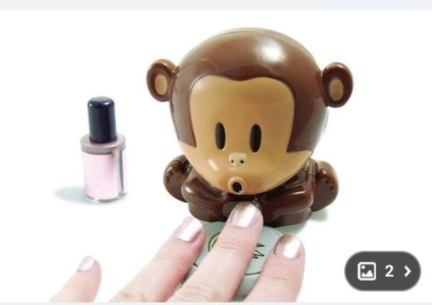 nail accessories nails monkey nail art technology funny valentines day gift idea