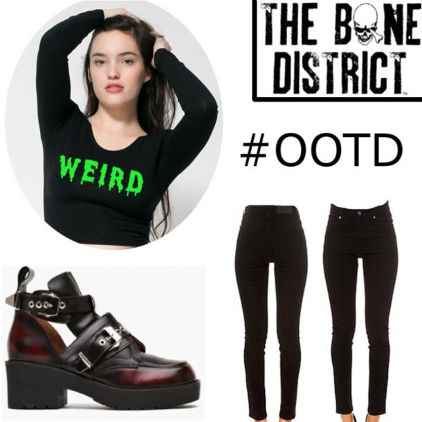 Shirt: the bone district, clothes, coltrane, jeffrey ...