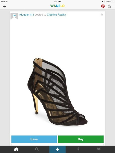 shoes black and gold heels nordstrom