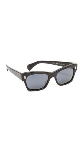 street sunglasses blue black