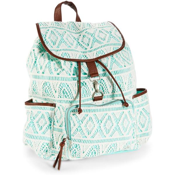 Aeropostale Crochet Backpack