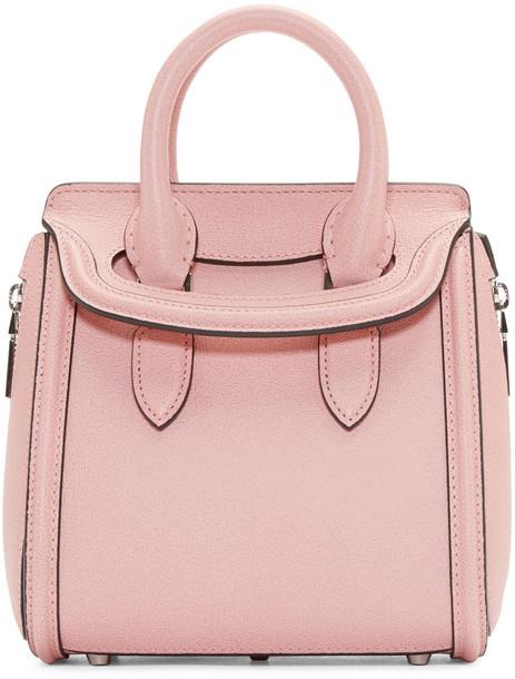 Alexander Mcqueen mini bag pink