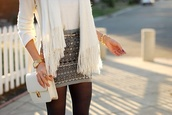 skirt,aztec,black and white,skater skirt