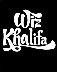 Wiz Khalifa T Shirt - Black And White - T Shirts