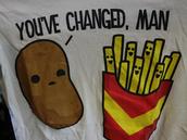 shirt,cute,t-shirt,fast food