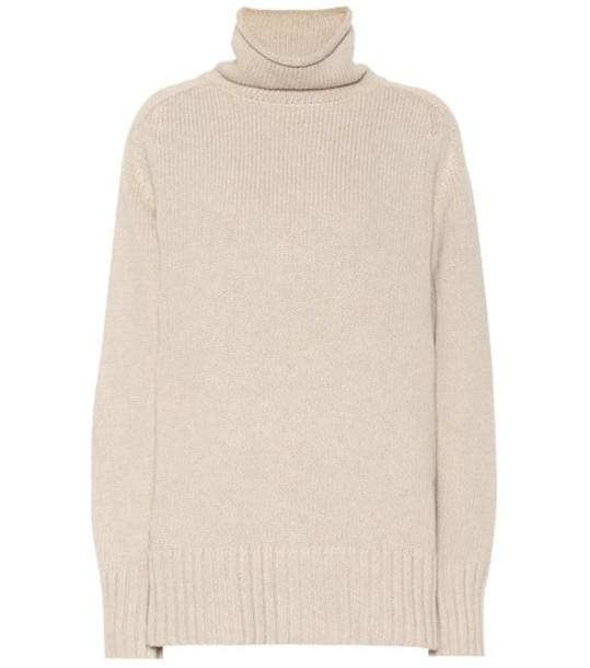Joseph Sloppy Joe cotton-blend sweater in beige / beige
