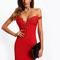 Women's party clubwear sexy elegant sweetheart neck dress
