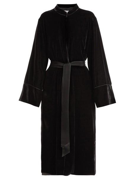 Elizabeth and James coat velvet black