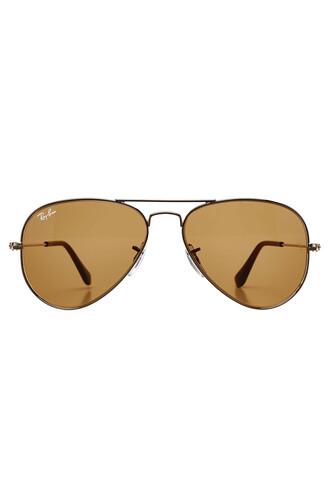 classic sunglasses gold