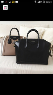 bag,givenchy bag,givenchy,black bag,style,tan,purse,black,designer bag,leather,bags and purses