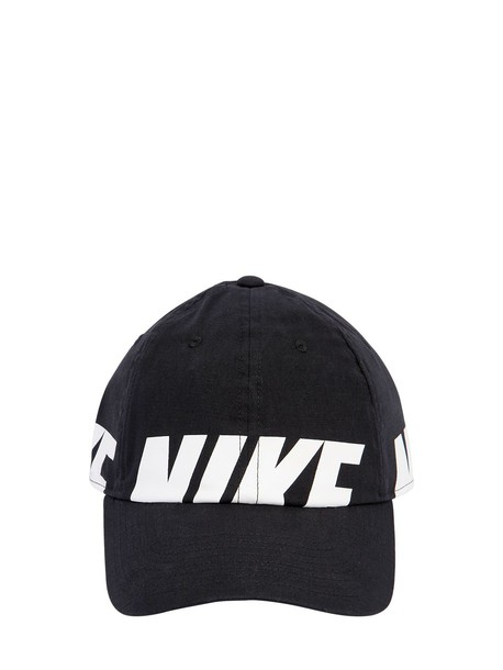 255a702f855684 NIKE Heritage86 Cotton Chambray Hat in black - Wheretoget