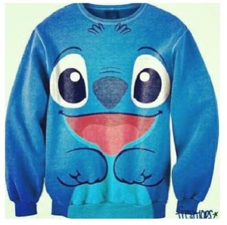 sweater disney walt disney stitch lilo lilo and stitch